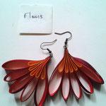 Chloé Serout - bijoux ruban  - modèle fleur -