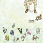 ランドリーグラフィックギャラリー「恋愛小説」展ニシノユキヒコの恋と冒険 表紙