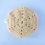 Eponge Lavable Claudie - Fuchsia / Poussin (04-0030)