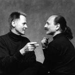 Poul Christiansen and Boris Berlin Gubi Luxembourg