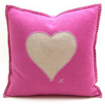 JR118 Heart Cushion(Pink)
