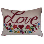 JR492 Mini Gypsy Love Cushion(Cream)