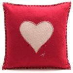 JR118 Heart Cushion(Red)