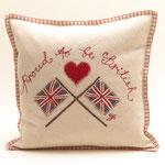 JR237 Proud to be British Cushion(Cream)