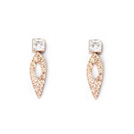 Diamond Stads Earrings Rose