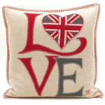 JR207 Fab Love Cushion(Cream)