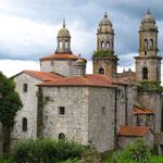 Alter Benediktiner Kloster in Sobrado dos Monxes bietet Unterkunft für über 100 Pilger.