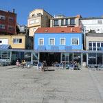 Finisterre ist ein kleiner Fischerdorf mit vielen, guten Fischrestaurants.