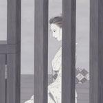 「潮騒はるか」葉室麟・月刊誌扉絵・第2話原画、2016