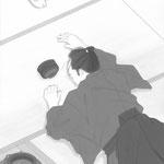 挿絵練習B・「潮騒はるか」葉室麟 2016