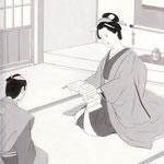 挿絵練習2「藤枝梅安」池波正太郎