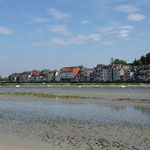 Saint Valéry/Somme vue de l'intérieur de la Baie