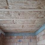 Ausdämmen einer Holzbalkendecke