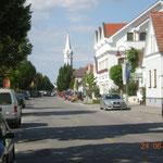 Hauptstraße in Mörbisch