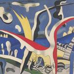 Paysage polychrome - FERNAND LEGER 1937