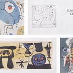 Un poème dans chaque livre - ELUARD-ERNST- DOMINGUEZ-MIRO-VILLON 1956