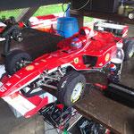 1:5er Großmodell mit Benzinmotor