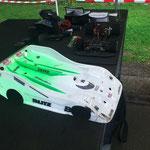 Der Buri-Racer wird mit Gruppe-C- Karosse gefahren