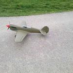 Leo`s Curtiss P-40N Warhawk noch ohne Decor