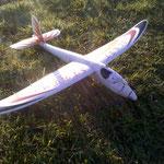 und hatte durch einen Pilotenfehler Bodenkontakt