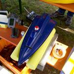 das Mini-Tobi, ein Classic-Rennboot