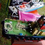 die Modelle von Alex, die Southampton, pink Race und die Helgoland