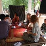 Entretien dans la province de Prey Veng