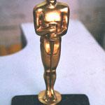 """""""Oscar"""" trofeo de resina"""