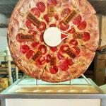"""""""Ruleta de pizza"""" Fibra de vidrio"""