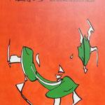 Rückseite XIII, Acryl-/Mischtechnik auf Leinwand, 100 x 80 cm