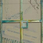 Vorderseite XVI, Acryl-/Mischtechnik auf Leinwand, 100 x 80 cm