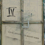 Vorderseite IV, Acryl-/Mischtechnik auf Leinwand, 100 x 80 cm