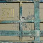 Vorderseite XVII, Acryl-/Mischtechnik auf Leinwand, 80 x 100 cm
