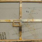 Vorderseite XXII, Acryl-/Mischtechnik auf Leinwand, 80 x 100 cm
