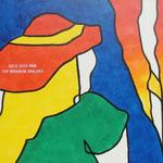 Rückseite XII, Acryl-/Mischtechnik auf Leinwand, 80 x 100 cm