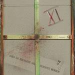 Vorderseite XI, Acryl-/Mischtechnik auf Leinwand, 100 x 80 cm