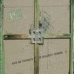 Vorderseite XVIII, Acryl-/Mischtechnik auf Leinwand, 100 x 80 cm