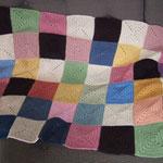 余った毛糸でモチーフ編み