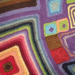 自由なモチーフ編み