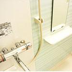 安心サーモスタット混合栓付浴室