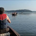 Bootsausflug auf dem Westensee