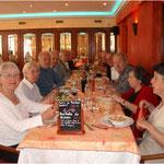 Le repas de Printemps du 19/05/2011 au restaurant l'Enclos à Donneville