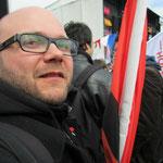 Marius Köstner (Gräfenberg ist bunt) - für Fragen zum antifaschistischem Engagement vor Ort