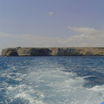 Bootsausflug zu den Naturhöhlen