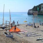 Surf- und Segelstation Cala Romantica