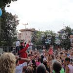 Spettacoli di Bolle in piazza