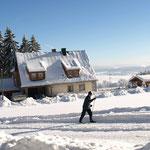 Ski-Loipen am Buchhaus VIER