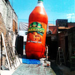 BOTELLA INFLABLE 9MTS