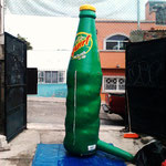 BOTELLA INFLABLE 4MTS