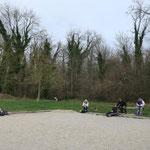 Pause pique-nique parc de Sillery